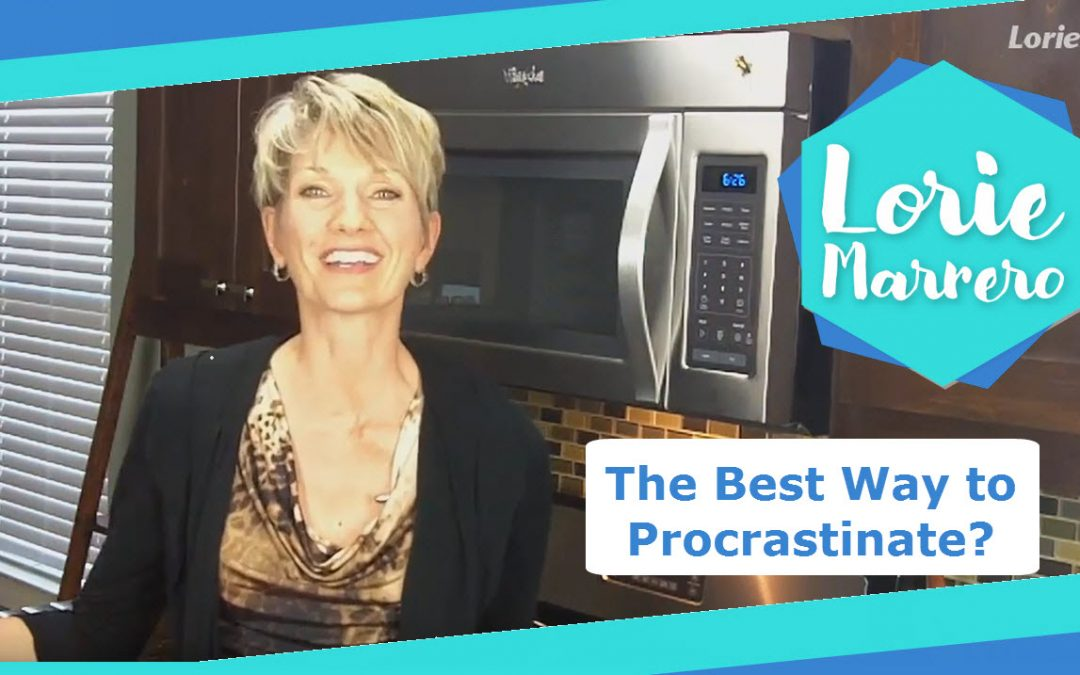 The Best Way to Procrastinate?